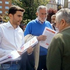 Pedro Casares y Ramón Ruiz