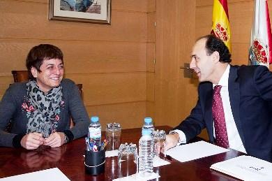 Cedrún y Diego (Foto: Gobierno de Cantabria)