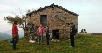 La gente de 'Burbuja Films', lost in San Roque